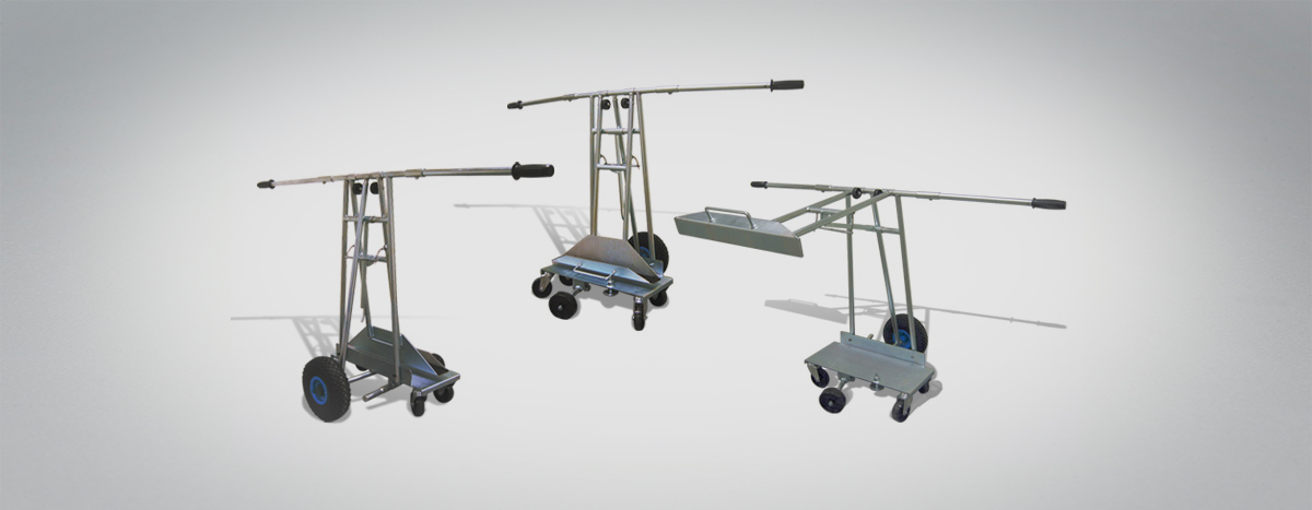 Platten-Schwenk-Wagen